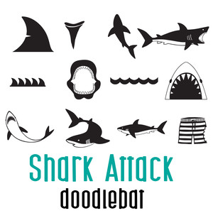 shark attack doodlebat