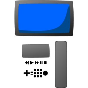 TV and controller