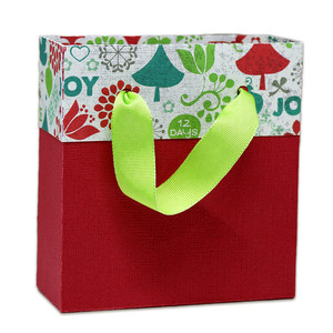 two toned gift bag