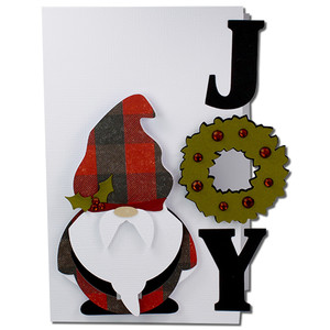 joy santa gnome card