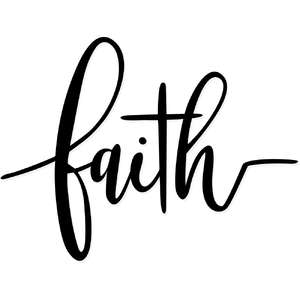 faith cross script