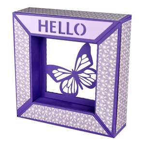 hello butterfly framed