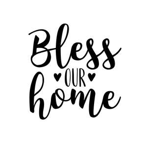 thanksgiving phrase bless our home quote