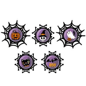 halloween layered labels