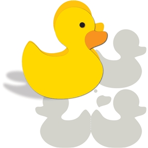 card kit rubber duck