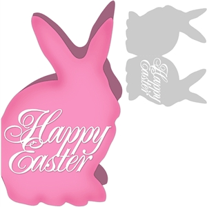 2 piece easter card kit