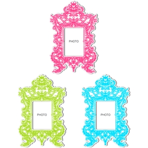 vintage ornate frame set 2