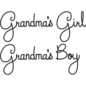 grandma's girl/boy