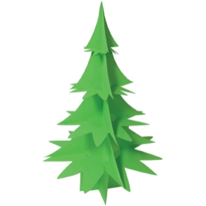 christmas tree 3d pointy