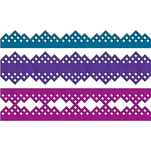 diamond lace borders