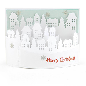 a2 flexi card winter city