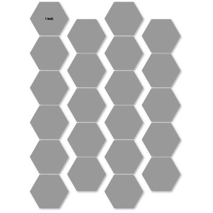 quilt foundation hex 1 inch sides