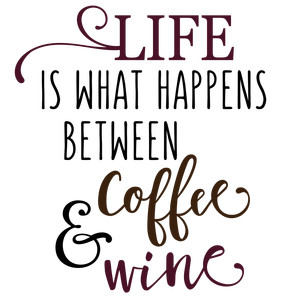 what happens between coffee and wine