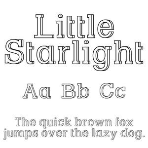cg little starlight dfont