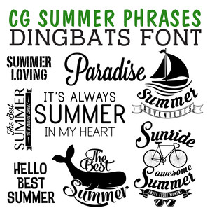 Silhouette Design Store - Search Designs : dingbats