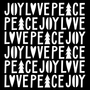 joy love peace stencil