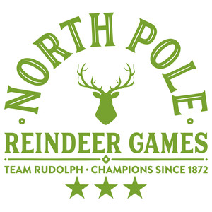 north pole - reindeer games