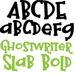 pn ghostwriter slab bold