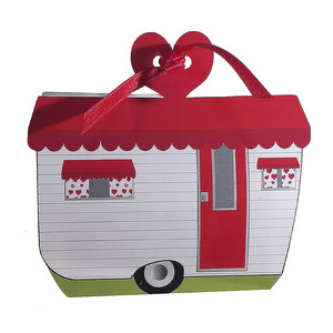 vintage camper valentine treat box