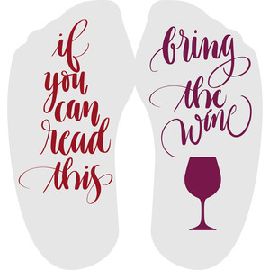 if you can read this - wine
