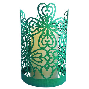 lucky four leaf clover lantern