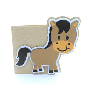 baby horse card