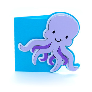 baby octopus card