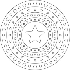 circles and stars: nested