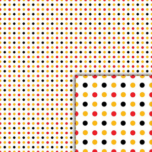 magical polka dots background paper