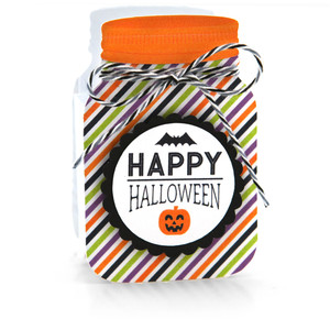 mason jar treat box happy halloween