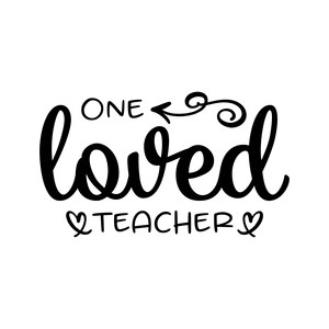 one loved teacher