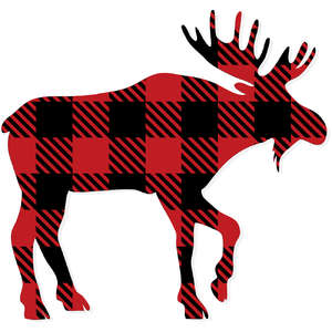 plaid moose