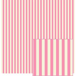 pink and cream stripes pattern