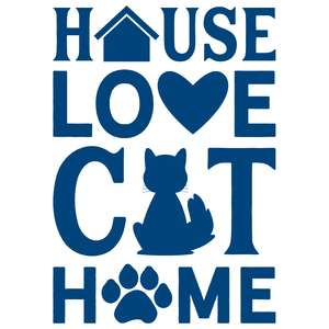 house love cat home