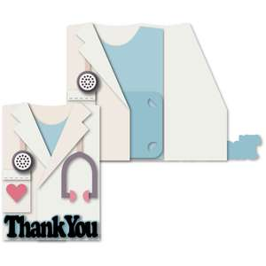doctor jacket thanks a6 card