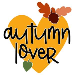 autumn lover heart