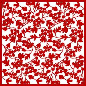 hawthorn berry background