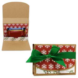 square chocolate gift box
