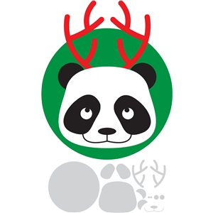 holiday panda