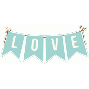 family ties - love banner