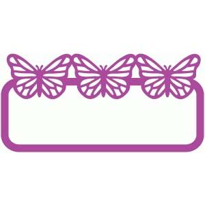 monarch name label