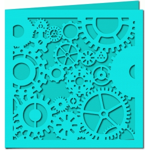 gears and cogs card