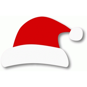 santa hat christmas drinking game