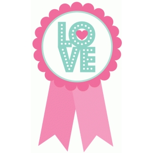 love marquee rosette