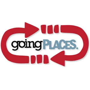 'going places' arrow