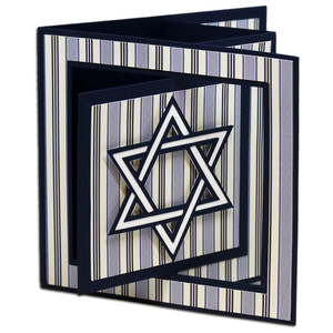 hanukkah window lever card