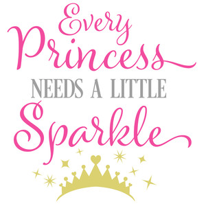 every princess needs a little sparkle