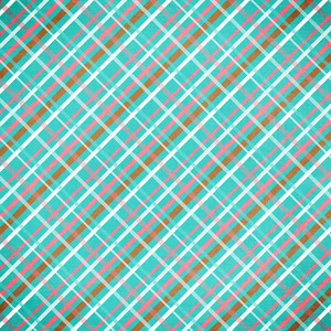 blue and pink plaid paper