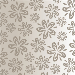gray flower pattern
