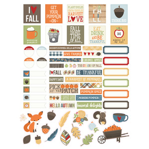 hello fall planner stickers